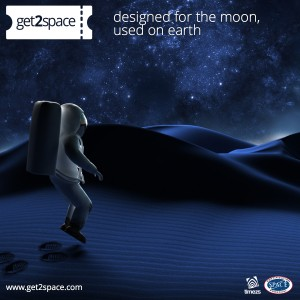 Get2Space - Launch image