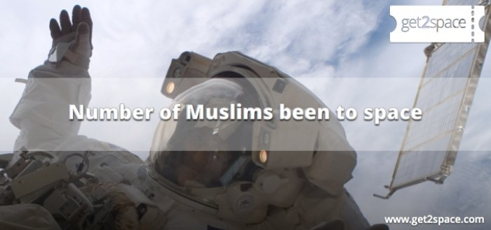 Number of Muslims to Space