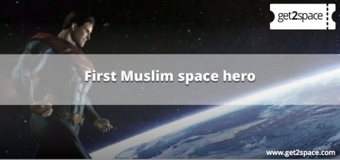 First hero in Space is a Muslim