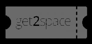 Get2Space Logo Dark GRay